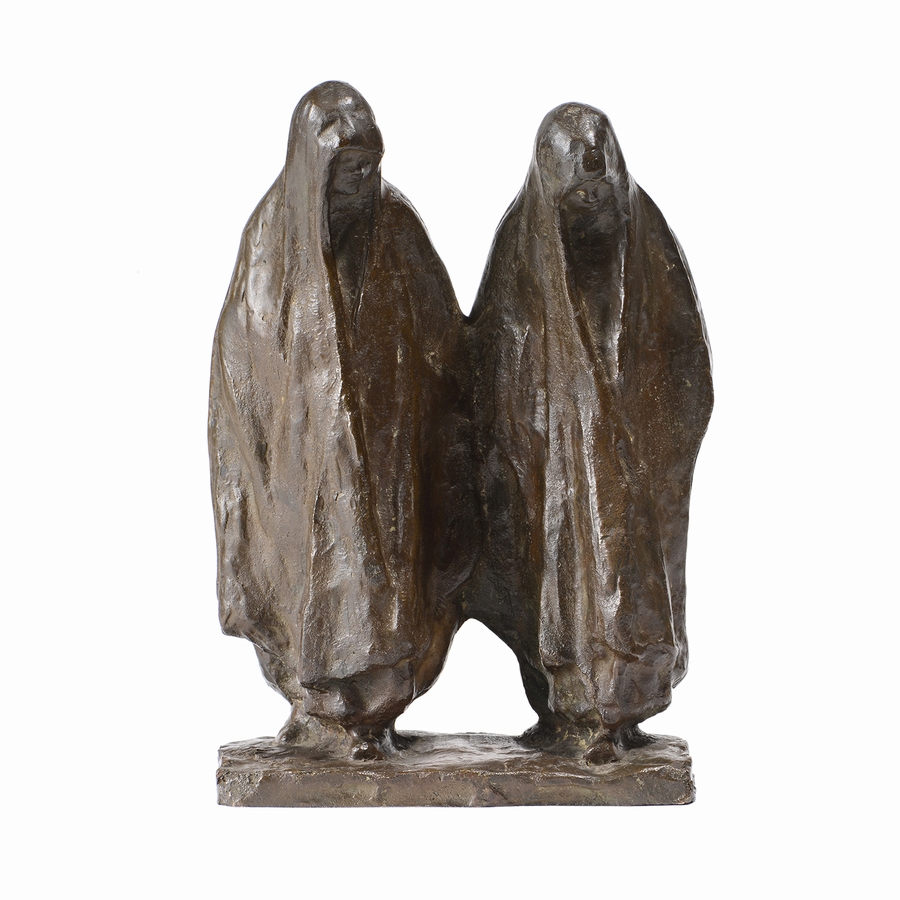 Henri BOUCHARD  «Deux Jeunes Arabes»