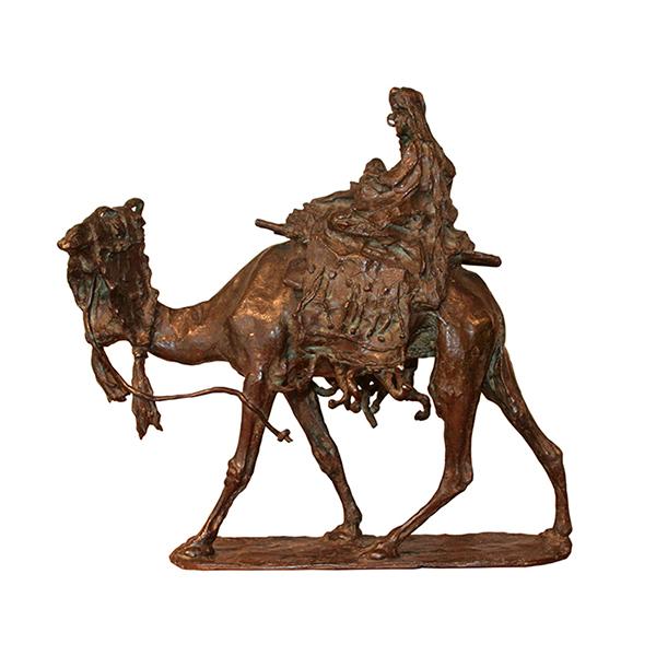 Ernesto BAZZARO  «Maternité au chameau»