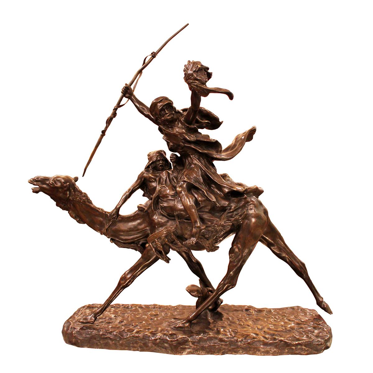 Jean-Baptiste BELLOC «Méhariste triomphant»