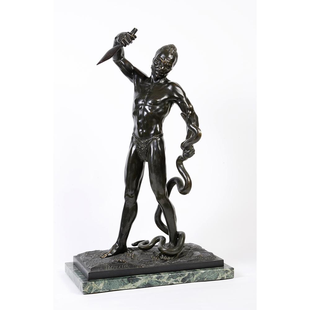 Sylvain NORGA  «Chasseur de serpent»