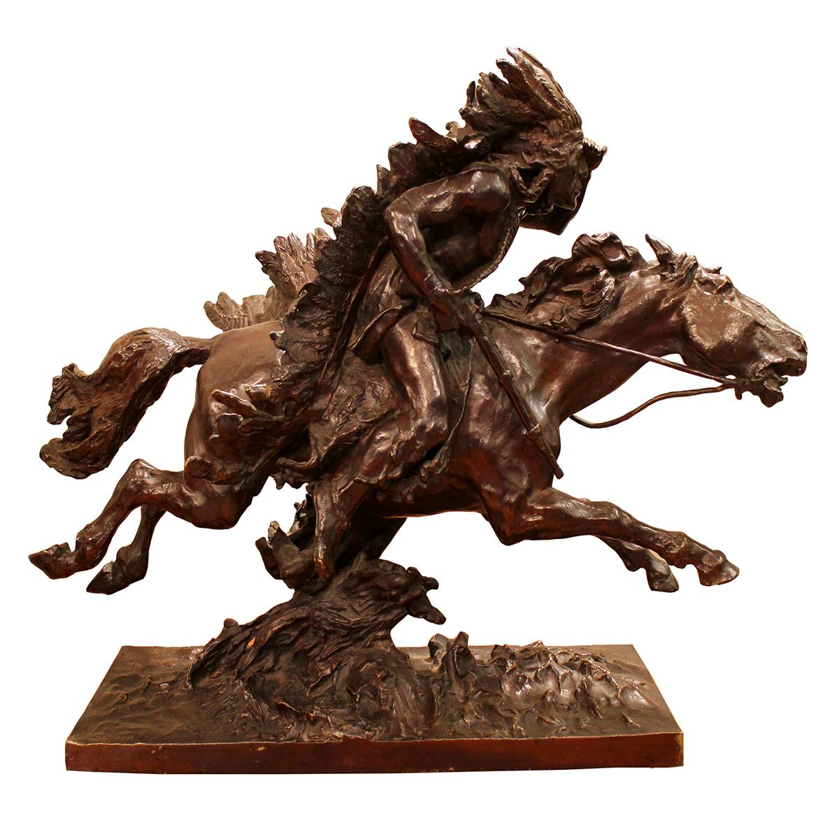 Ulpiano CHECA Y SANZ  «Indien à cheval»