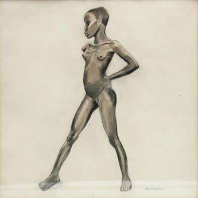 Arthur DUPAGNE – «Jeune Mangbetu»