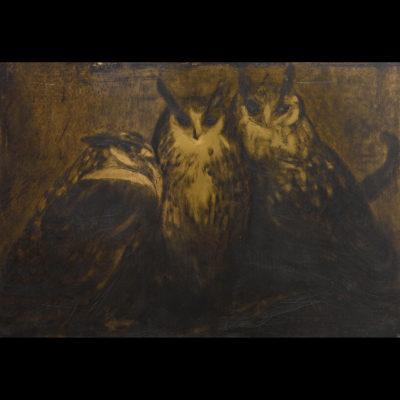 Paul JOUVE – «Famille de Trois Grands Ducs»