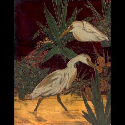 Gaston SUISSE – «Les Hérons»