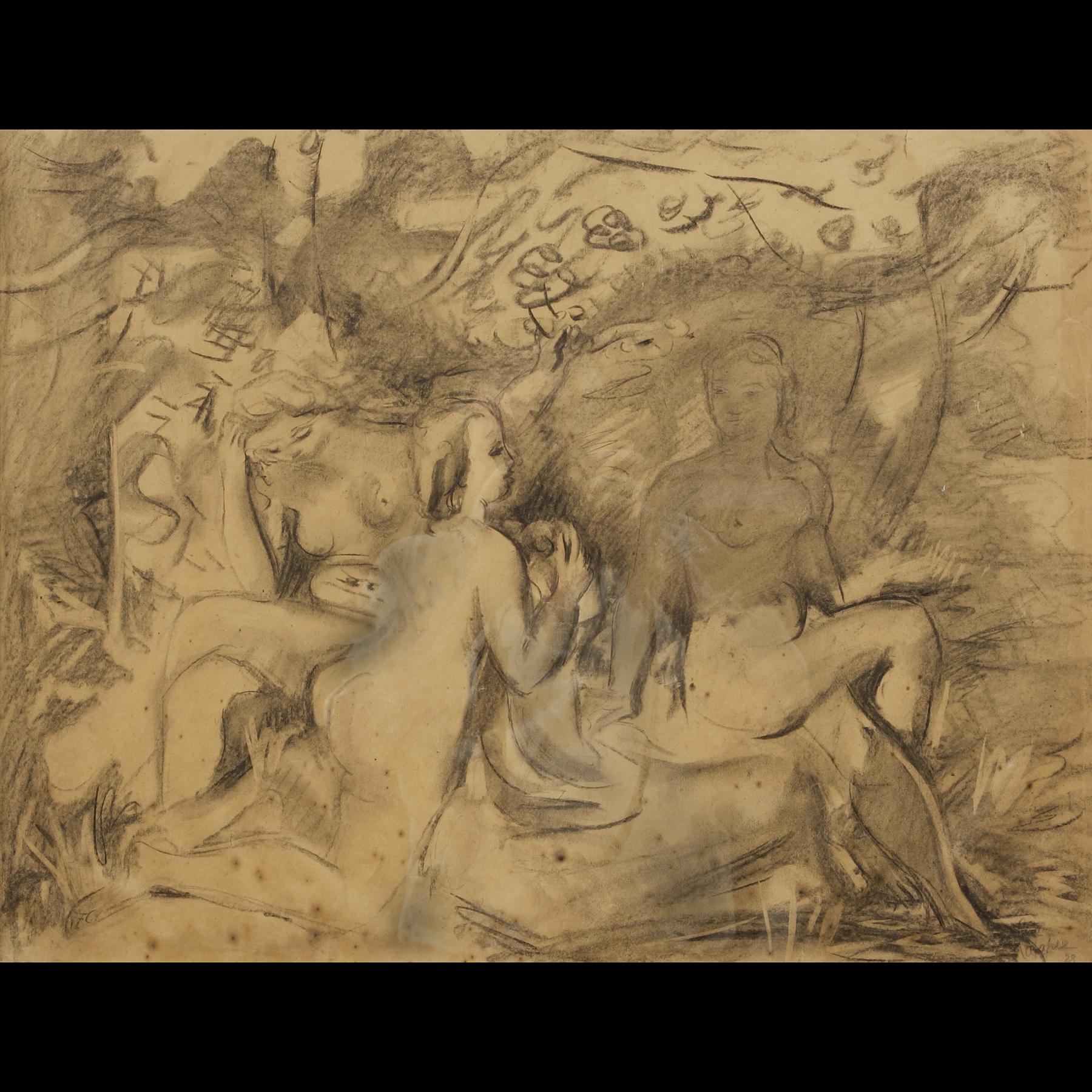Louis LATAPIE  –  «Baigneuses»