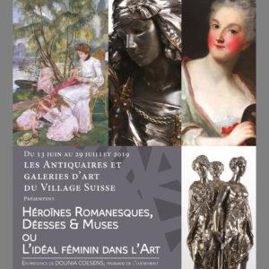 Héroïnes Romanesques, Déesses & Muses ou L'Idéal Féminin dans l'Art