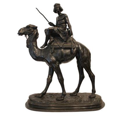 Emile GUILLEMIN  «Méhariste Soudanais»