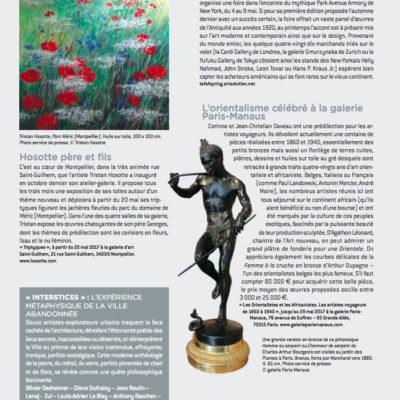 L'Objet d'Art de Mai 2017
