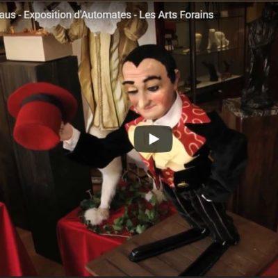 Galerie Paris-Manaus – Exposition d'Automates – Les Arts Forains
