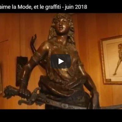 Le Village Suisse aime la Mode, et le graffiti – juin 2018