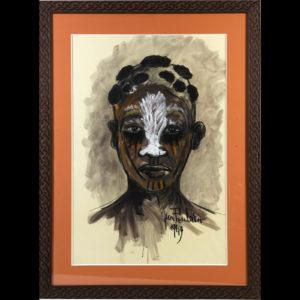 Jean Poulain – «Portrait Africain»