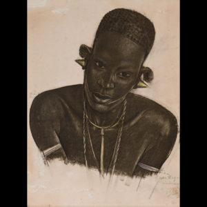 Alexandre IACOVLEFF – «Une Wagaya – Dadoma»
