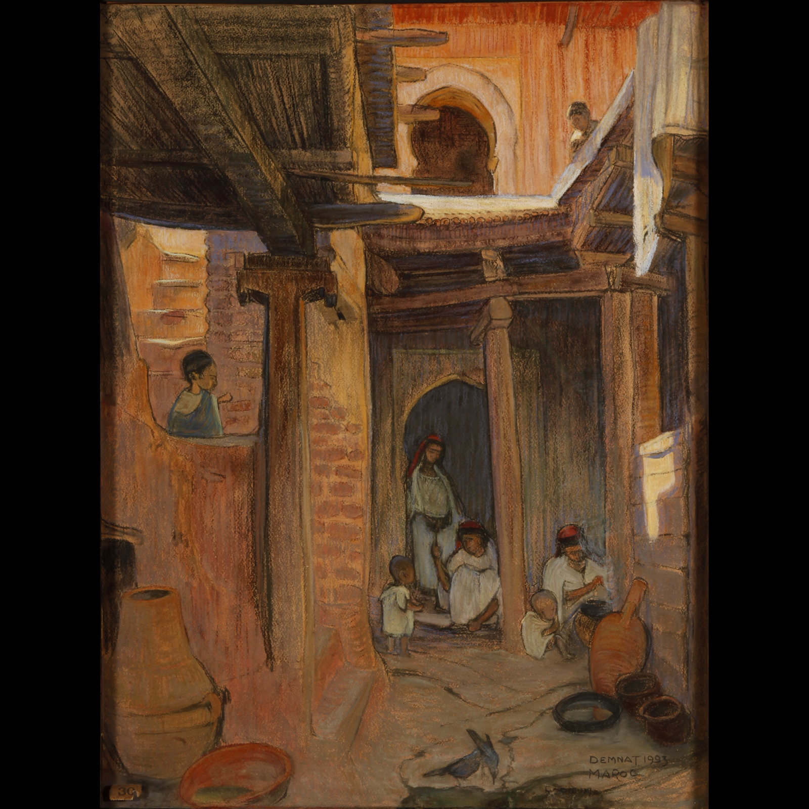 Rodieux Maurice - Demnat Maroc