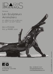 « Les sculpteurs Animaliers » du 6 février au 31 mars 2020