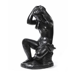 Georges COULON – «Nu se peignant les cheveux»