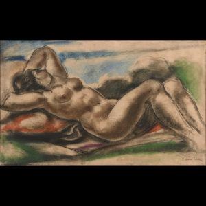 Léon-Ernest DRIVIER – «Nu allongé»