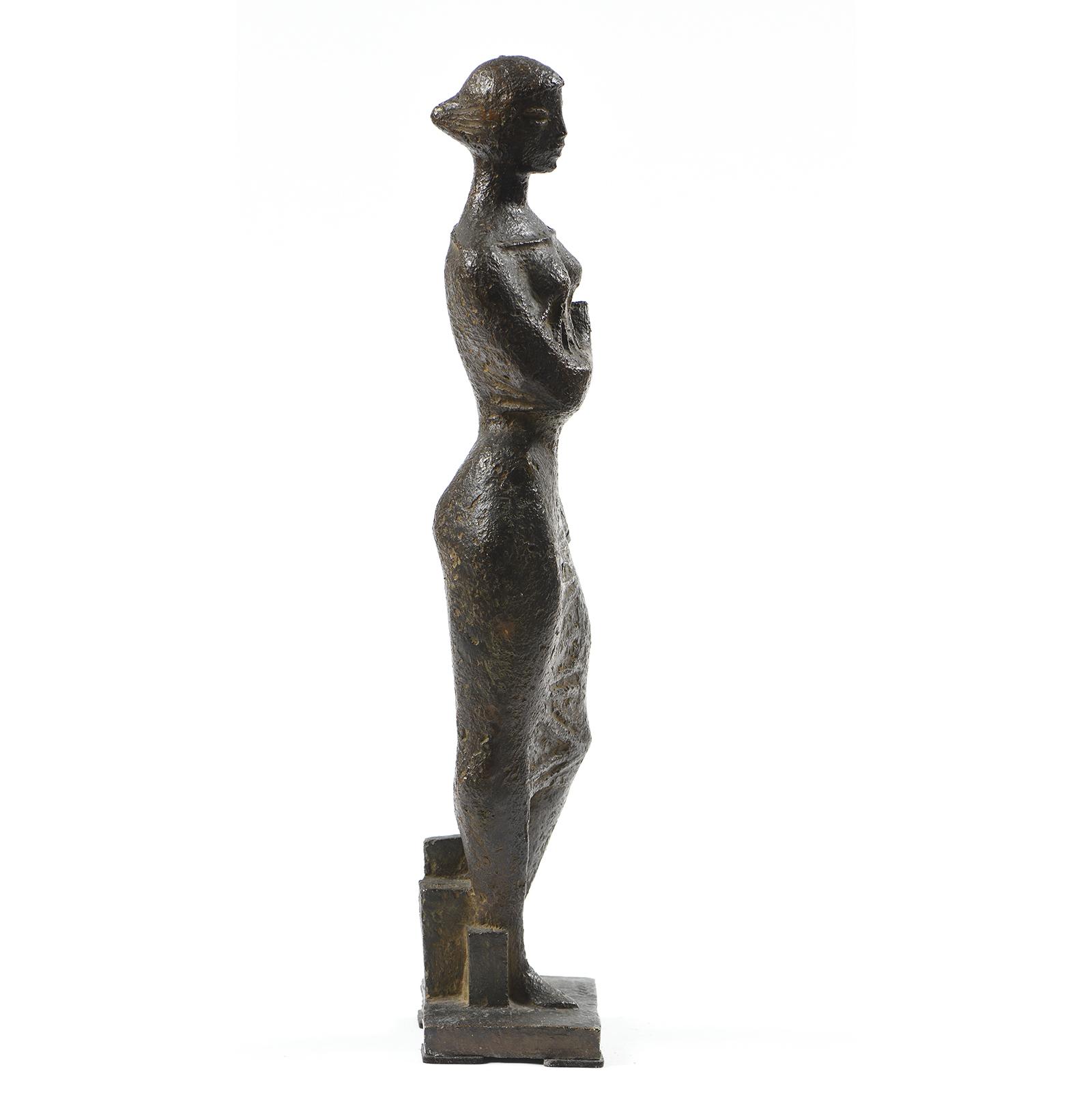 Georges Oudot - Femme drapée