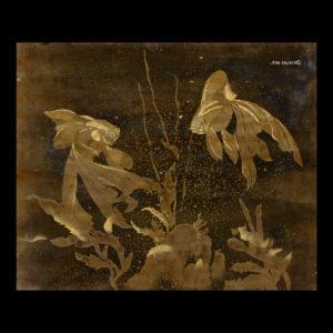 Jean DUNAND – «Poisson Japonais»