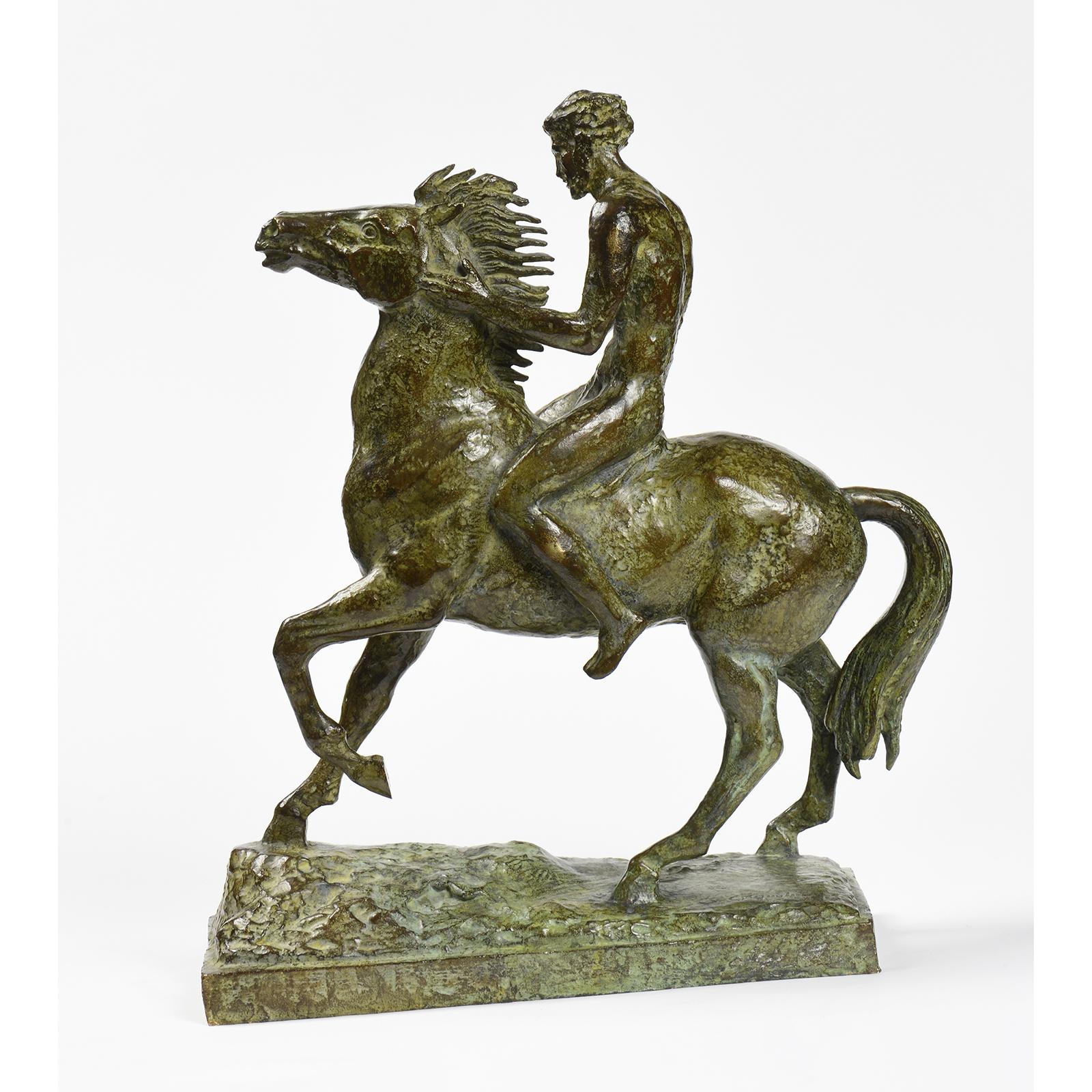 Gabriel Coquelin - Homme a cheval
