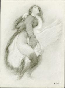 Richard GUINO (1890-1973) – «Hommage à Léda»